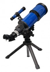 A small telescope.