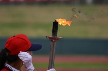 A torch bearer.