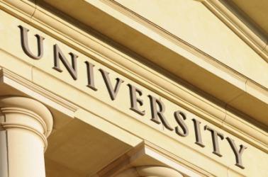 A university building.