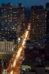 Manhattan is an example of an urban environment.