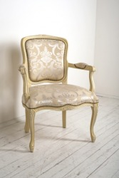 A fauteuil chair.