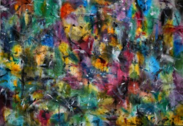 An example of abstract expressionism.