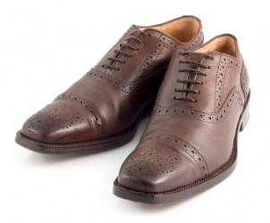 A pair of brogues.