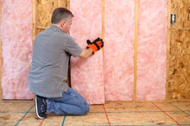 This insulation serves as a buffer against outside elements.