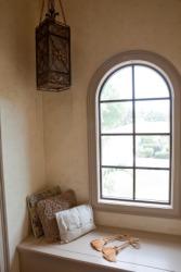 A window alcove.