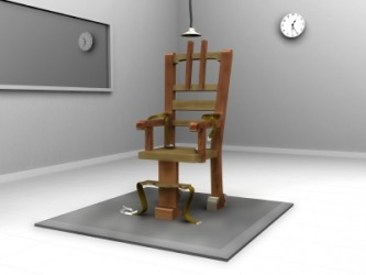 The electric chair is an example of capital punishment.
