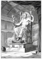 The ancient Greeks considered Zeus a deity.