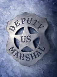 The badge of a U.S. deputy marshal.