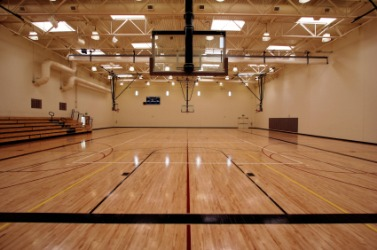 This gym is a sports facility.