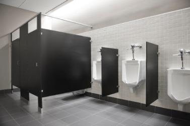 A public lavatory.