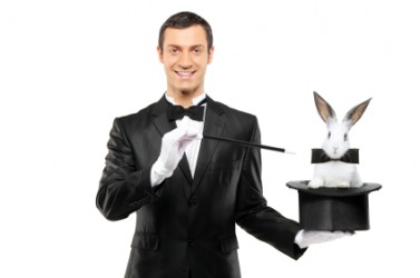 Was it magic that brought this rabbit out of the hat?