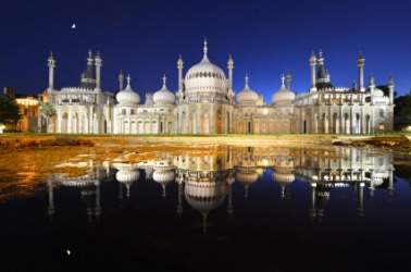 The magnificence of Brighton Palace.