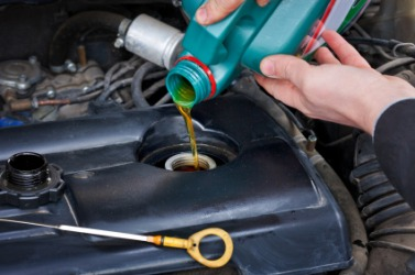Regular oil changes help to maintain your car's engine.