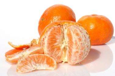 Mandarin oranges.