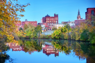 The city of Nashua, New Hampshire.