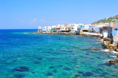 Seascape on the island of Kos.