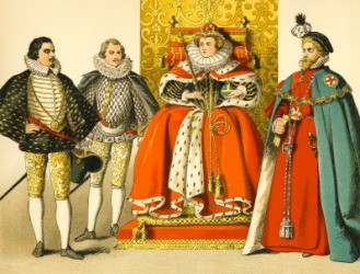 During the reign of Elizabeth I, England was a queendom.