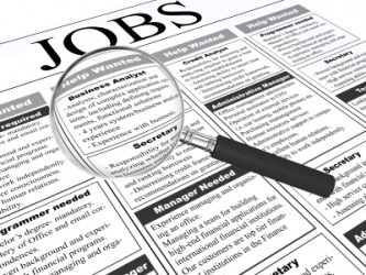 Tools you might use if you seek a job.