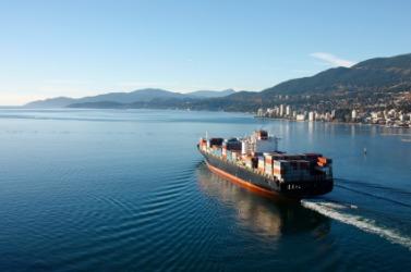 Seaborne cargo.