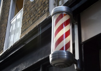 Barber Terminology : Barber pole dictionary definition barber pole defined