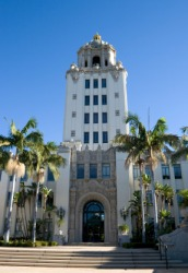 Beverly Hills city hall.