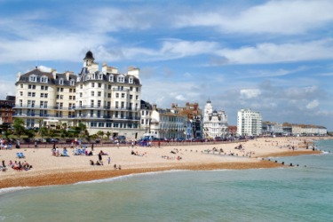 The seacoast town of Bournemouth.