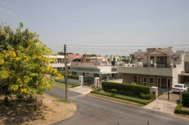 A residential area in Chandigarh.