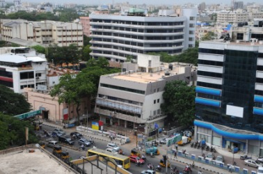 A view of downtown Chennai.
