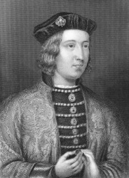 A portrait of Edward IV.