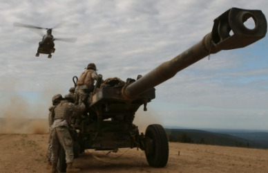 An example of field artillery.