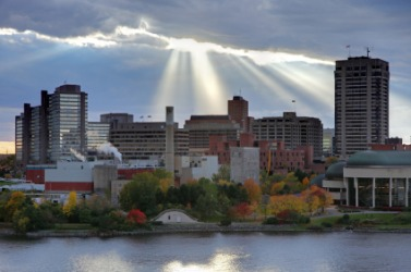 Skyline of Gatineau.