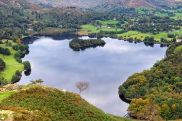 A view of Grasmere in Autumn.