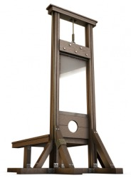 A guillotine.
