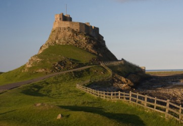 Castle on Holy Island.