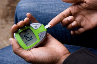 This instrument is used to check blood sugar levels.