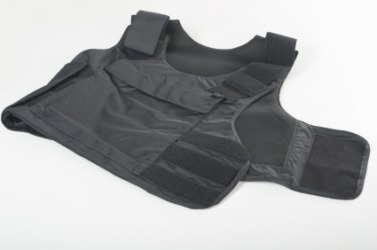 Kevlar is used to make this bulletproof vest.