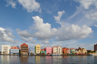 Willemstad, the capital of the Netherlands Antilles.