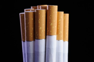 tobacco contains nicotine.