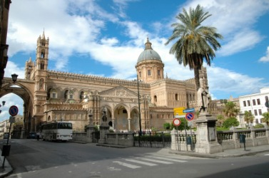 The cathedral in Palermo.