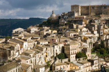 The Italian town of Ragusa.