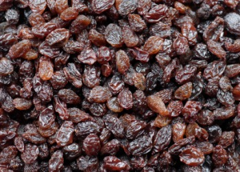Lots of raisins.