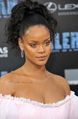 Rihanna Valerian And The City Of A Thousand Planets World Premiere - Arrivals - 7/17/2017