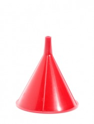 This funnel is a cone.