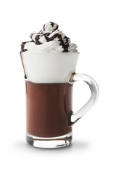 A delicious chocolaty drink.