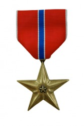 The Bronze Star Medal.