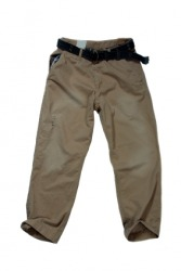 A pair of chino pants.