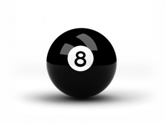 An eight ball.