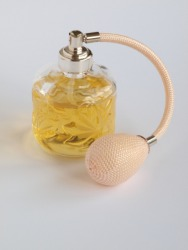 An atomizer for perfume.