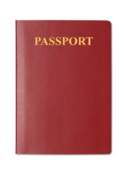 A passport is a form of identification.