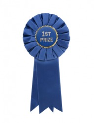 This ribbon will be given to the best.